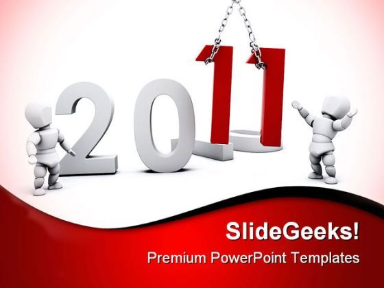 Happy New Year01 Festival PowerPoint Backgrounds And Templates 1210  Presentation Themes and Graphics Slide01