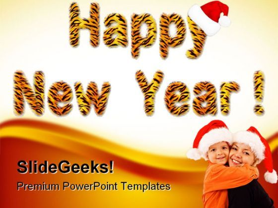 Happy New Year 2011 Festival PowerPoint Backgrounds And Templates 1210  Presentation Themes and Graphics Slide01