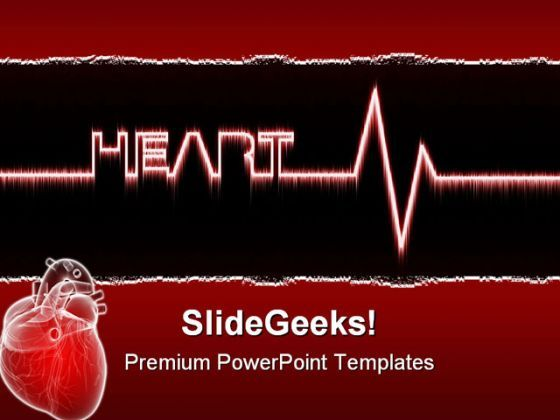 Heart Medical PowerPoint Templates And PowerPoint Backgrounds 0311  Presentation Themes and Graphics Slide01