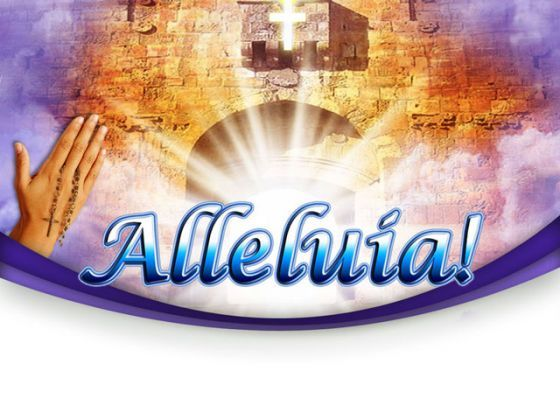 Heaven Alleluia Religion PowerPoint Templates And PowerPoint Backgrounds 0211  Presentation Themes and Graphics Slide01