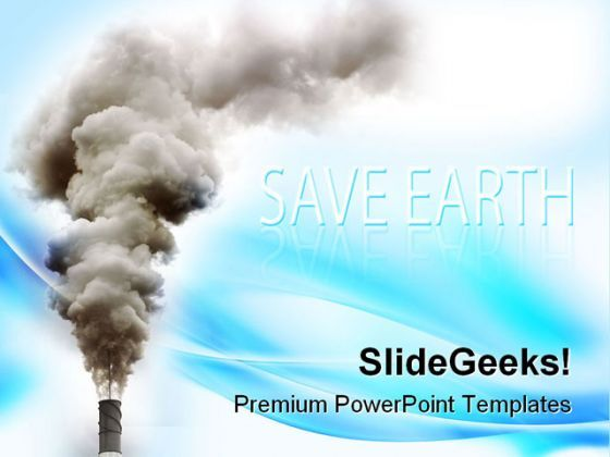 Industry Pollution Industrial PowerPoint Templates And PowerPoint Backgrounds 0211  Presentation Themes and Graphics Slide01