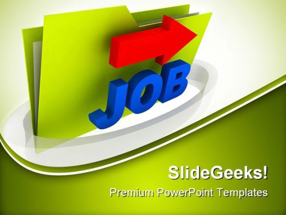 Job Folder Security PowerPoint Templates And PowerPoint Backgrounds 0311  Presentation Themes and Graphics Slide01