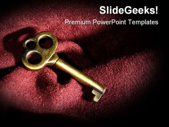 Key Security PowerPoint Backgrounds And Templates 1210  Presentation Themes and Graphics Slide01