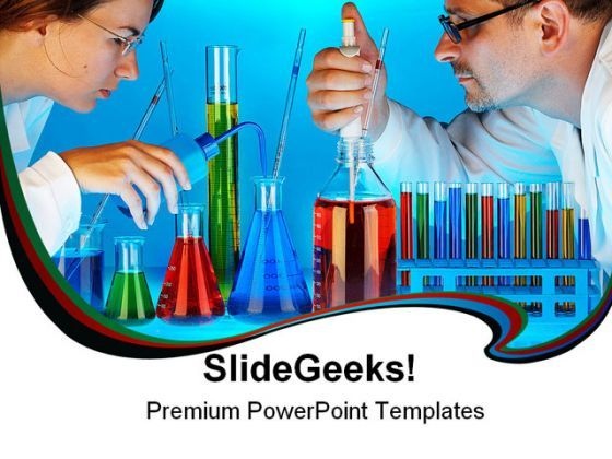 Laboratory Science PowerPoint Backgrounds And Templates 1210  Presentation Themes and Graphics Slide01