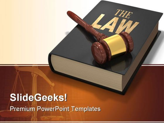 Law Justice PowerPoint Templates And PowerPoint Backgrounds 0511  Presentation Themes and Graphics Slide01