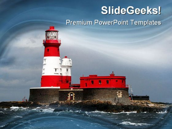 Light House Nature PowerPoint Templates And PowerPoint Backgrounds 0211  Presentation Themes and Graphics Slide01