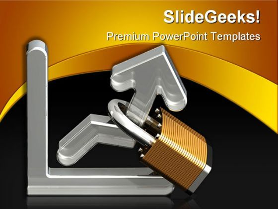 Locking In Profits Finance PowerPoint Templates And PowerPoint Backgrounds 0311  Presentation Themes and Graphics Slide01