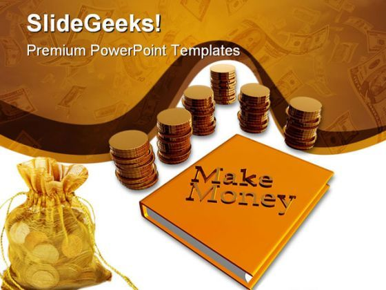 Make Money Business PowerPoint Background And Template 1210  Presentation Themes and Graphics Slide01