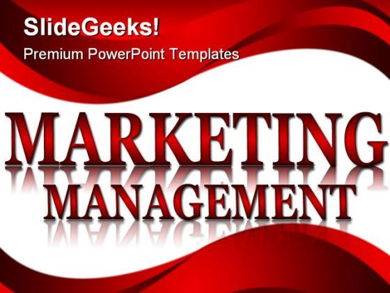 Maketing Management Business PowerPoint Backgrounds And Templates 0111  Presentation Themes and Graphics Slide01