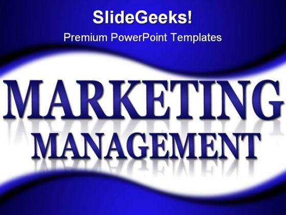 Marketing And Management Business PowerPoint Background And Template 1210  Presentation Themes and Graphics Slide01