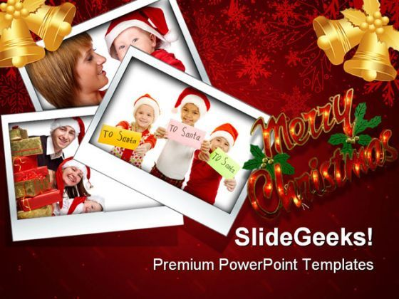 Merry Christmas03 Festival PowerPoint Backgrounds And Templates 1210  Presentation Themes and Graphics Slide01