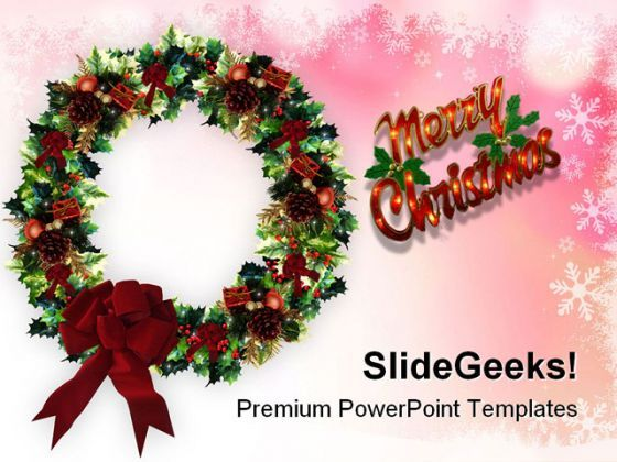 Merry Christmas03 Festival PowerPoint Templates And PowerPoint Backgrounds 0611  Presentation Themes and Graphics Slide01