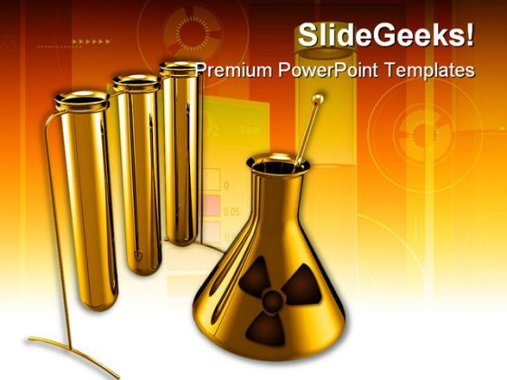 Metallic Test Tubes Science PowerPoint Backgrounds And Templates 1210  Presentation Themes and Graphics Slide01