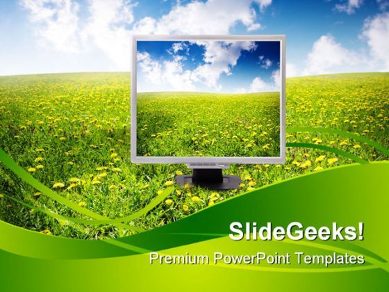 Natural Technology Nature PowerPoint Templates And PowerPoint Backgrounds 0511  Presentation Themes and Graphics Slide01