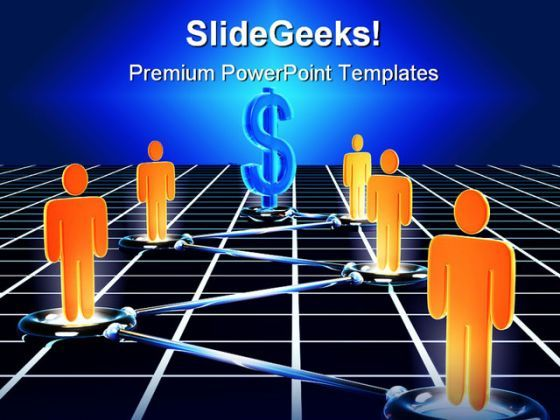Network Internet PowerPoint Background And Template 1210  Presentation Themes and Graphics Slide01
