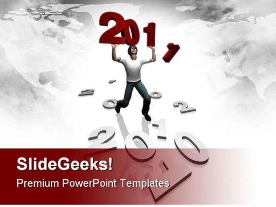 New Year 2011 People Festival PowerPoint Backgrounds And Templates 0111  Presentation Themes and Graphics Slide01