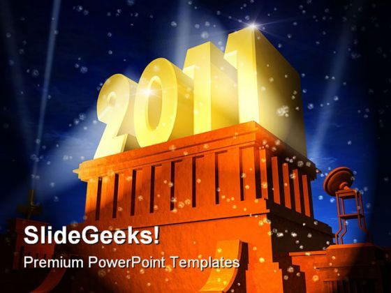 New Year Celebration Festival PowerPoint Backgrounds And Templates 1210  Presentation Themes and Graphics Slide01