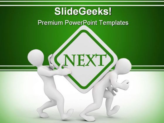 Next People PowerPoint Background And Template 1210  Presentation Themes and Graphics Slide01
