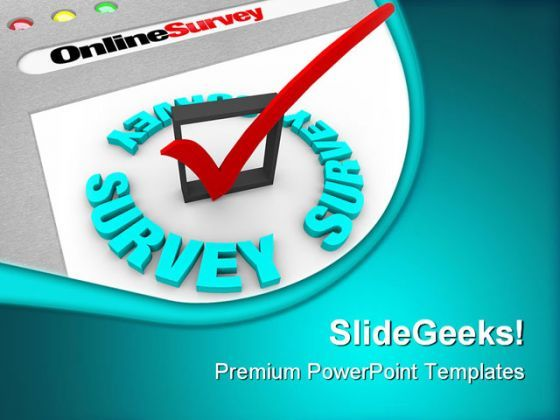 Online Survey Technology PowerPoint Templates And PowerPoint Backgrounds 0511  Presentation Themes and Graphics Slide01