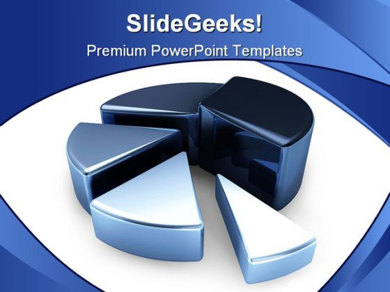 Pie Chart Business PowerPoint Background And Template 1210  Presentation Themes and Graphics Slide01
