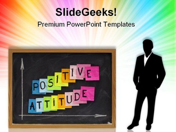 Positive Attitude Business PowerPoint Templates And PowerPoint Backgrounds 0811  Presentation Themes and Graphics Slide01