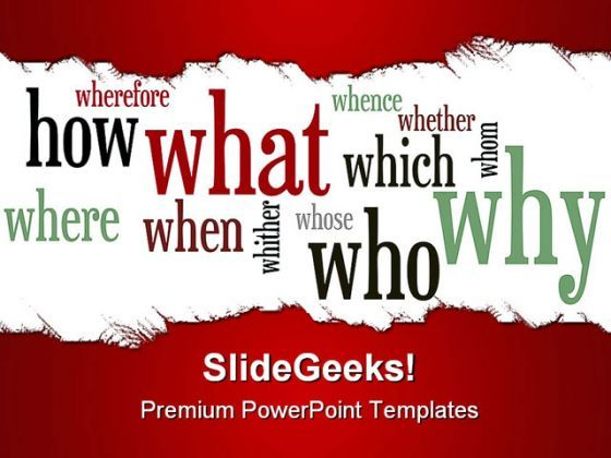 Question Business PowerPoint Backgrounds And Templates 1210  Presentation Themes and Graphics Slide01