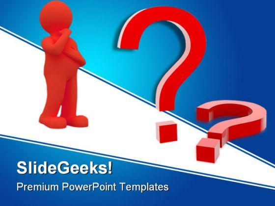 Question Mark Business PowerPoint Backgrounds And Templates 1210  Presentation Themes and Graphics Slide01
