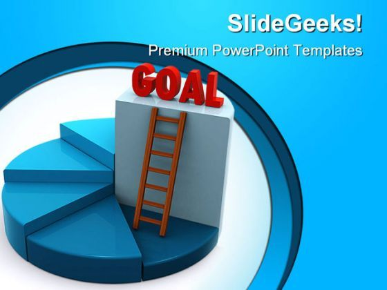 Reach Goal Business PowerPoint Background And Template 1210  Presentation Themes and Graphics Slide01