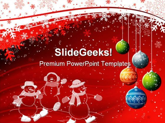 Christmas Powerpoint Background.Check Out This Amazing Template To Make Your Presentations Look Awesome At