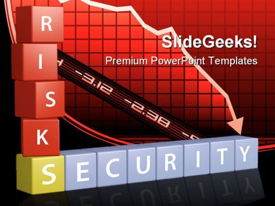 Risk Security Finance PowerPoint Templates And PowerPoint Backgrounds 0411  Presentation Themes and Graphics Slide01