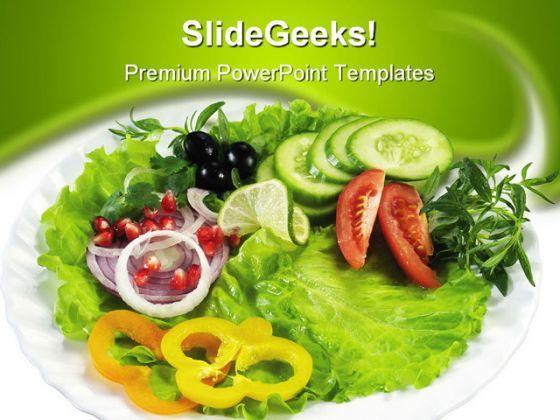 Salad food powerpoint template 0910 powerpoint slide salad food powerpoint template 0910 powerpoint slide presentation sample slide ppt template presentation toneelgroepblik Gallery