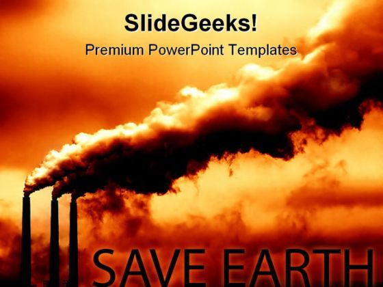 Save Earth Environment PowerPoint Backgrounds And Templates 1210  Presentation Themes and Graphics Slide01