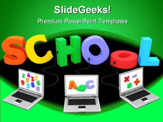 School Education PowerPoint Backgrounds And Templates 1210  Presentation Themes and Graphics Slide01