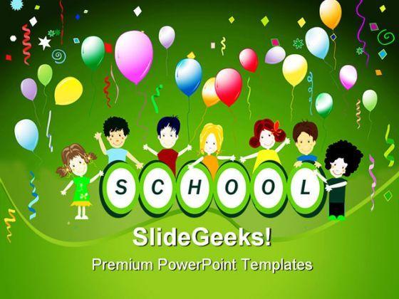 School party children powerpoint backgrounds and templates 1210 school party children powerpoint backgrounds and templates 1210 presentation themes and graphics slide01 toneelgroepblik Images