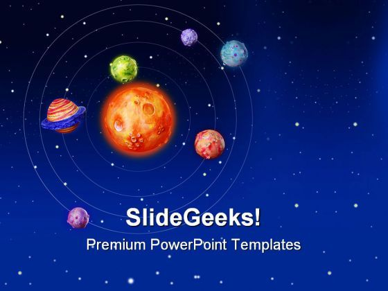 Space Planets Earth Powerpoint Templates And Powerpoint Backgrounds 0611 Presentation Powerpoint Templates Ppt Slide Templates Presentation Slides Design Idea