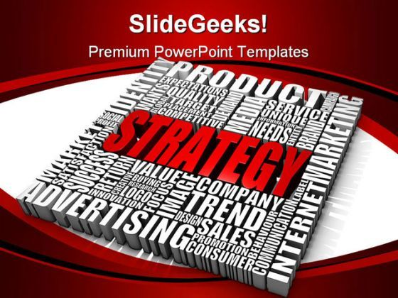Strategy02 Business PowerPoint Background And Template 1210  Presentation Themes and Graphics Slide01