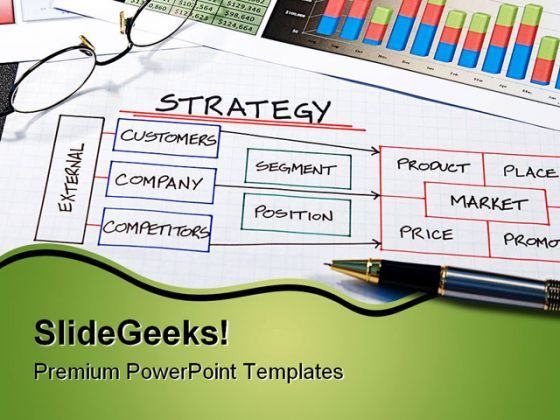 Strategy Business PowerPoint Background And Template 1210  Presentation Themes and Graphics Slide01