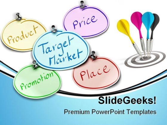 Target Market Business PowerPoint Backgrounds And Templates 1210  Presentation Themes and Graphics Slide01