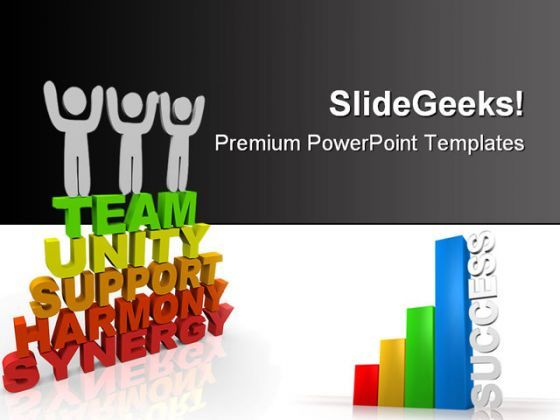 Teamwork Success PowerPoint Backgrounds And Templates 1210  Presentation Themes and Graphics Slide01