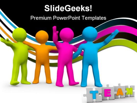 The Right Team Business PowerPoint Templates And PowerPoint Backgrounds 0411  Presentation Themes and Graphics Slide01