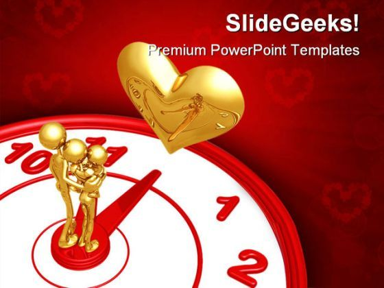 Time For Romance Family PowerPoint Backgrounds And Templates 1210  Presentation Themes and Graphics Slide01