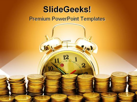 Time Is Money01 Finance PowerPoint Templates And PowerPoint Backgrounds 0511  Presentation Themes and Graphics Slide01