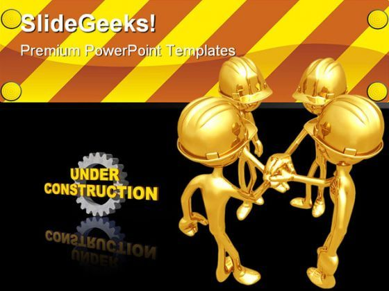 Under Construction Architecture PowerPoint Templates And PowerPoint Backgrounds 0711  Presentation Themes and Graphics Slide01