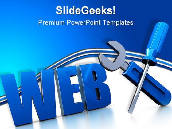 Web Design Internet PowerPoint Templates And PowerPoint Backgrounds 0111  Presentation Themes and Graphics Slide01