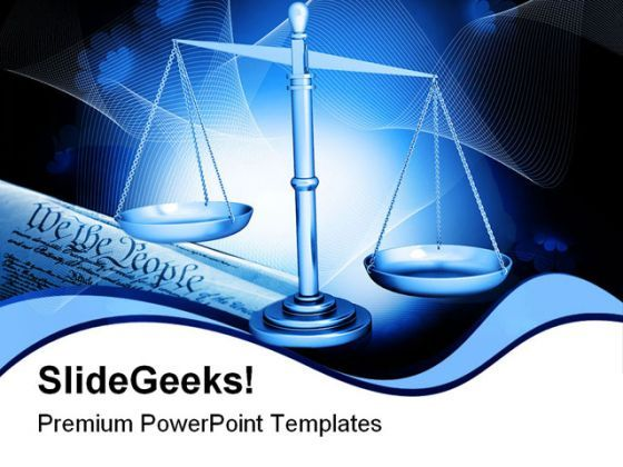 Weight Scale Law PowerPoint Templates And PowerPoint Backgrounds 0311  Presentation Themes and Graphics Slide01