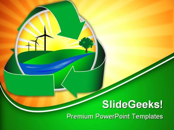 Wind Power Icon Nature PowerPoint Backgrounds And Templates 1210  Presentation Themes and Graphics Slide01