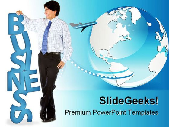 World Business PowerPoint Background And Template 1210  Presentation Themes and Graphics Slide01