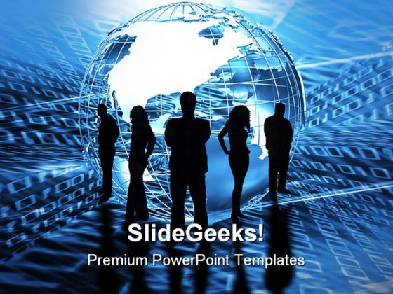 World Trading Global PowerPoint Background And Template 1210  Presentation Themes and Graphics Slide01