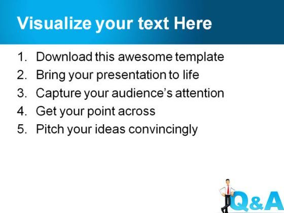 Qa People PowerPoint Template PowerPoint Templates - Qa roadmap template