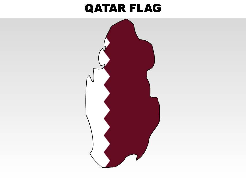 Qatar Country Powerpoint Flags Powerpoint Presentation Designs Slide Ppt Graphics Presentation Template Designs